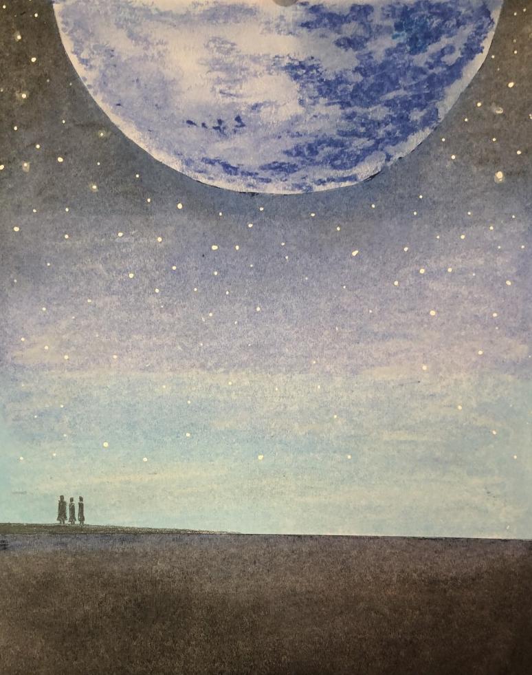 Die drei Friseure und der Mond